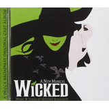Cd Wicked A New Musical = Trilha Sonora Lacrado [importado]